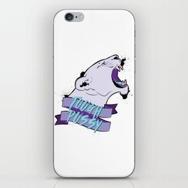 Tough Pussy iPhone Skin