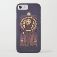 bad wolf iPhone & iPod Cases featuring Bad Wolf by Megan Lara