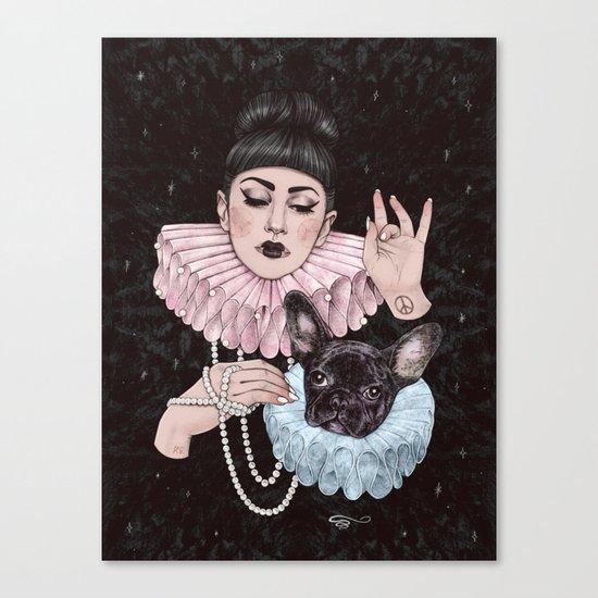 Dress Up Canvas Print
