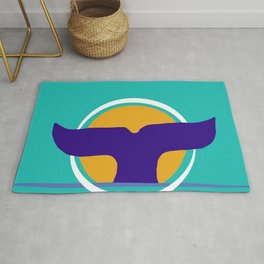 Whale of a Time  Rug