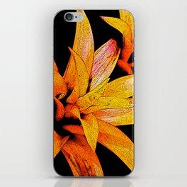 Yellow Bloom iPhone Skin