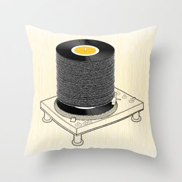 Fat Stack Throw Pillow