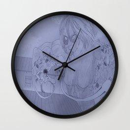 Showdown (Greyscale) Wall Clock