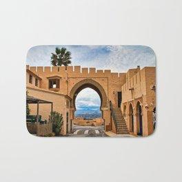 Moorish archway, Cabrera, Andalucia, Spain. Bath Mat