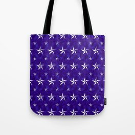 Stella Polaris Navy Blue Design Tote Bag