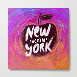 New (fuckin') York Metal Print