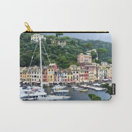 Portofino Harbour Italy Carry-All Pouch