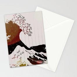Light Wave Stationery Cards