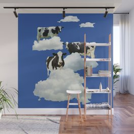 Cows on Clouds Wall Mural