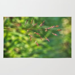 Wild grass Rug