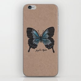 The Ulysses Butterfly - Papilio Ulysses iPhone Skin