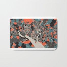 Southampton Multicoloured Print Bath Mat