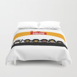 UNUSUAL SUSPECTS : Two Pines Duvet Cover