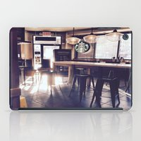 starbucks iPad Cases featuring Starbucks by Art By JuJu