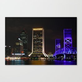 Jacksonville, Florida Canvas Print