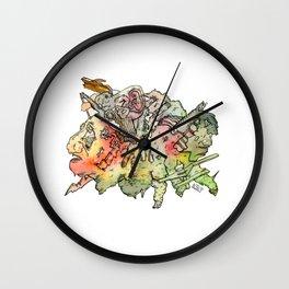 Cosmic Migraine Wall Clock