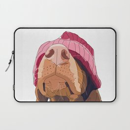 Hipster Vizsla Laptop Sleeve