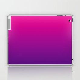 Neon Pink Purple Ultra Violet Pattern Laptop & iPad Skin
