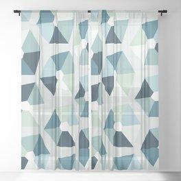 Mountain Mist Sheer Curtain