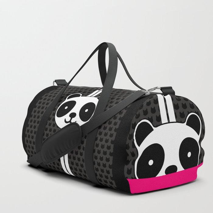 Racing Panda Duffle Bag