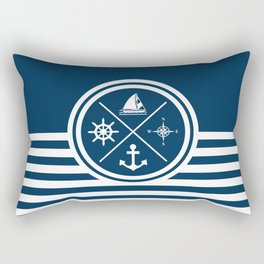 Sailing symbols Rectangular Pillow