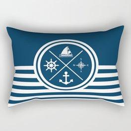Sailing symbols Rectangular Pillow