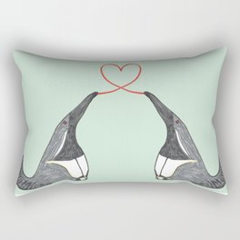 Anteater Love Rectangular Pillow