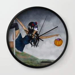 October 2017 Wall Clock
