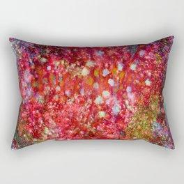 Red Moss Rectangular Pillow