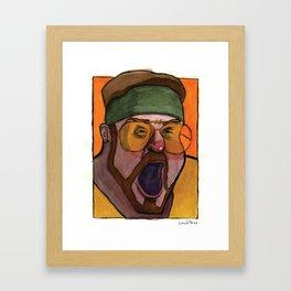 Shomer Fuckin' Shabbos! Framed Art Print