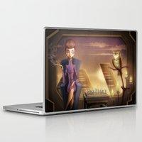 blade runner Laptop & iPad Skins featuring Blade Runner by MircoPinna