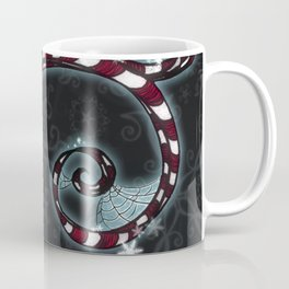 Candy Cane Vine Coffee Mug
