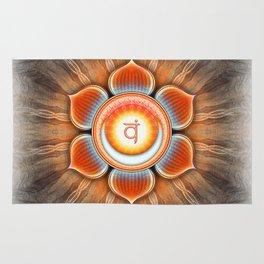 Svadhisthana Chakra - Sacral Chakra - Series IV Rug