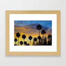 Palm Trees LA Framed Art Print