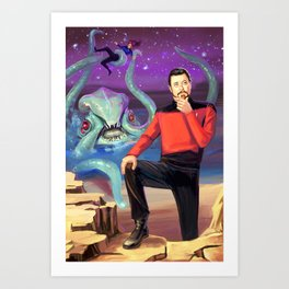 William T. Riker Art Print