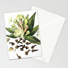 Watercolor Clove Stationery Cards