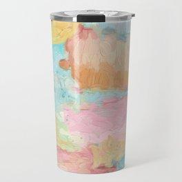 Abstract Watercolor - Design No.1 Travel Mug