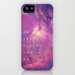 The Places You'll Go II iPhone Case