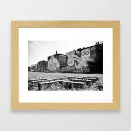 Blu. Framed Art Print