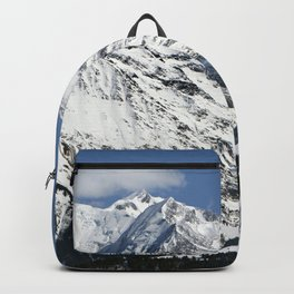 Mt. Blanc with clouds Backpack