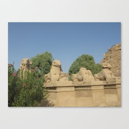 The Avenue of Sphinxes Canvas Print