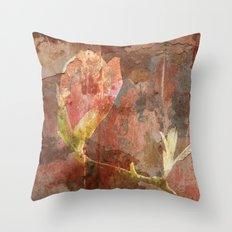 Vintage Magnolia Throw Pillow