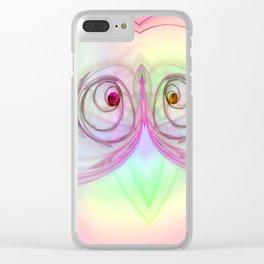 Little squint ... Clear iPhone Case
