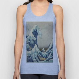 Vintage poster - The Great Wave Off Kanagawa Unisex Tank Top