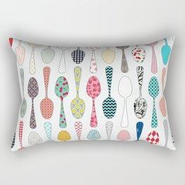 Quilt Spoons Rectangular Pillow