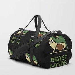 Beast Mode Avocado Duffle Bag