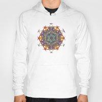 sacred geometry Hoodies featuring Sacred Geometry Spacecraft Mandala by Jam.