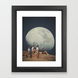 FriendsnotFriends Framed Art Print