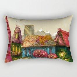 Cities Rectangular Pillow