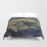 medical Duvet Covers featuring Medical Marijuana Deep Sleep by BudProducts.us